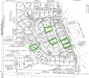 Cottages of Lakewood Available Lots